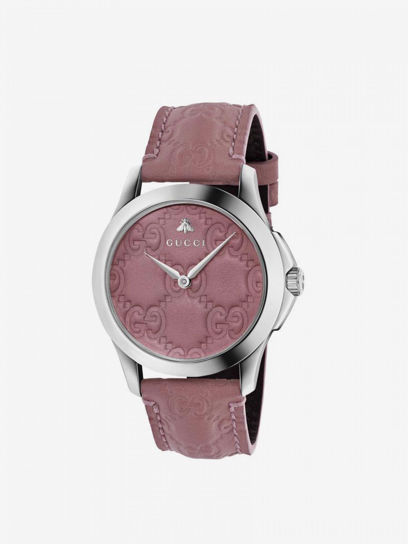 Watch Gucci: Watch men Gucci pink 1