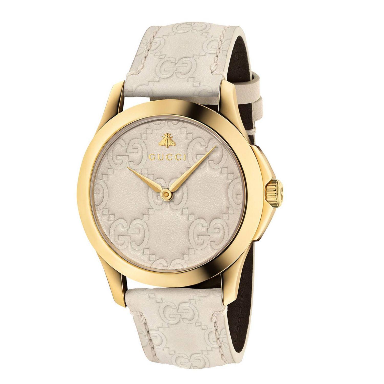 Часы G-Timeless 38 мм с выгравированной монограммой