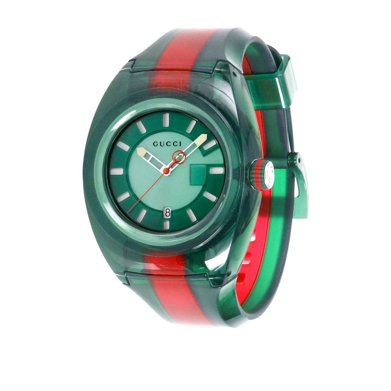 Sync Watch Web Gehäuse in transparentem PVC grün 1