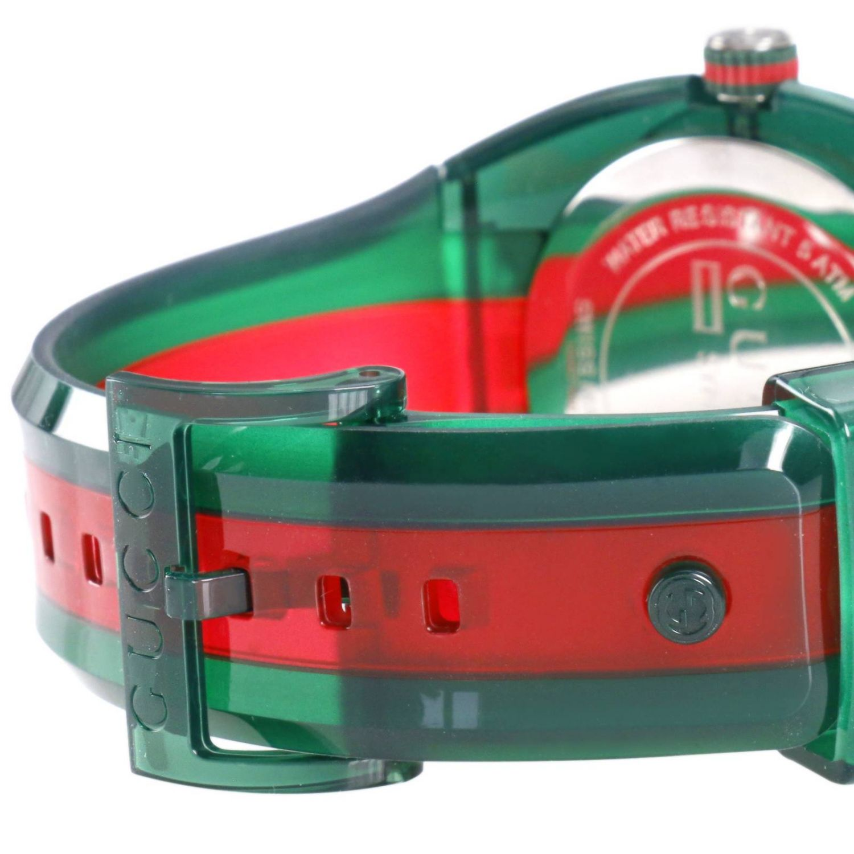 Sync Watch Web Gehäuse in transparentem PVC grün 3