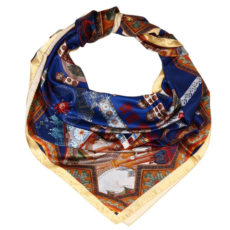 Платок Женское Antonello Blandi синий 1