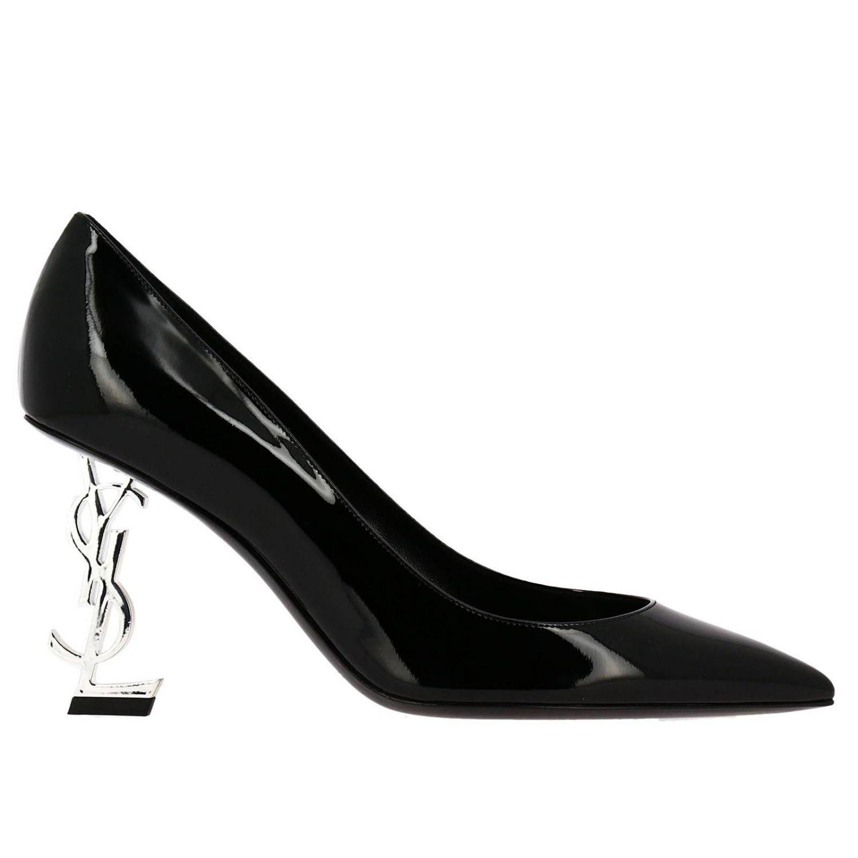 Schuhe damen Saint Laurent schwarz 1