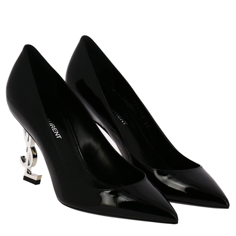 Schuhe damen Saint Laurent schwarz 2