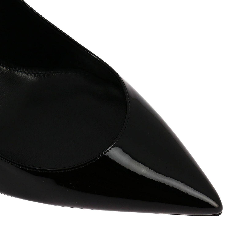 Schuhe damen Saint Laurent schwarz 3