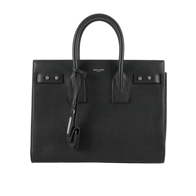 Наплечная сумка Женское Saint Laurent черный 1