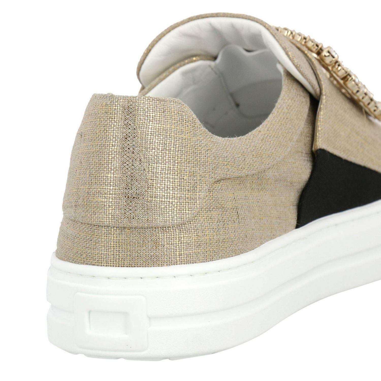 Shoes women Roger Vivier gold 4