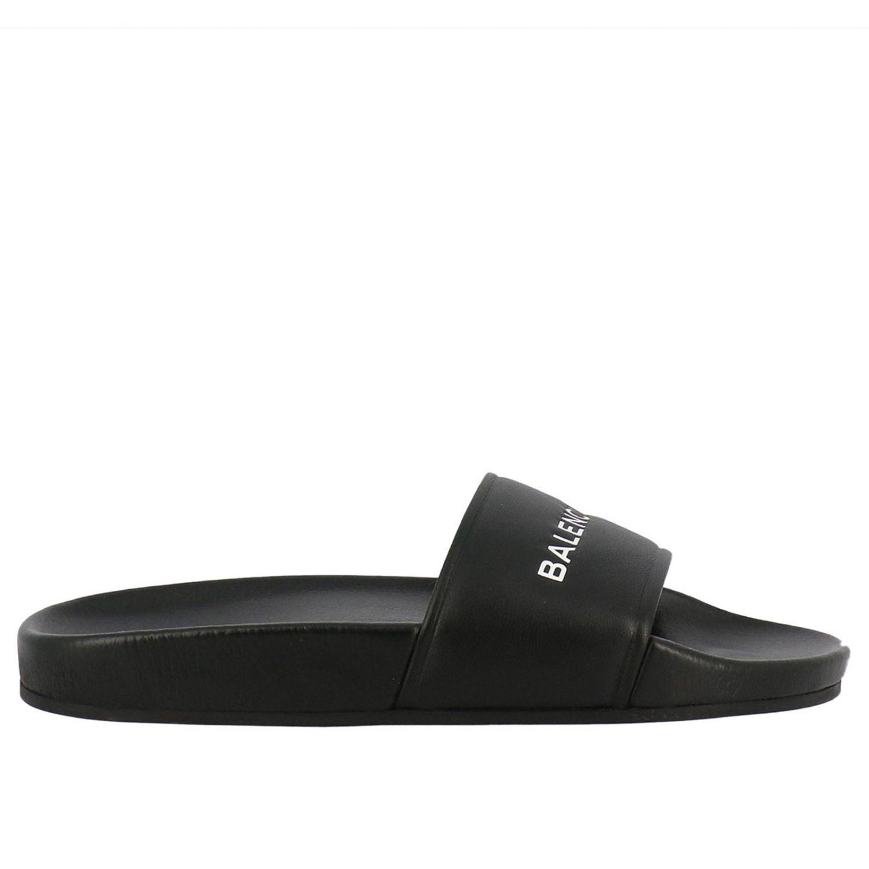Chaussures femme Balenciaga | Sandales Plates Balenciaga FOqW7
