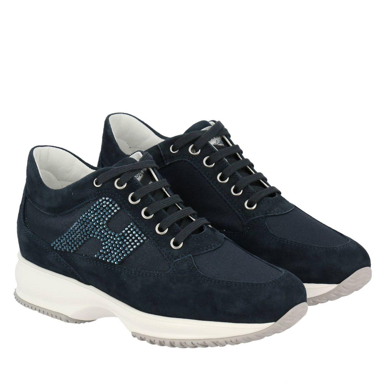 Shoes women Hogan blue 2