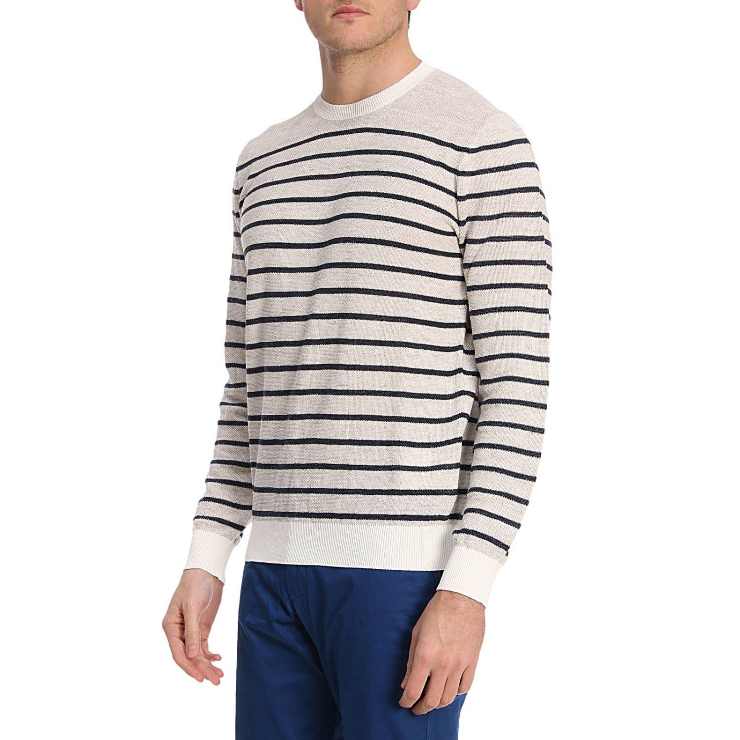 Sweater Tods: Sweater men Tod's yellow cream 2
