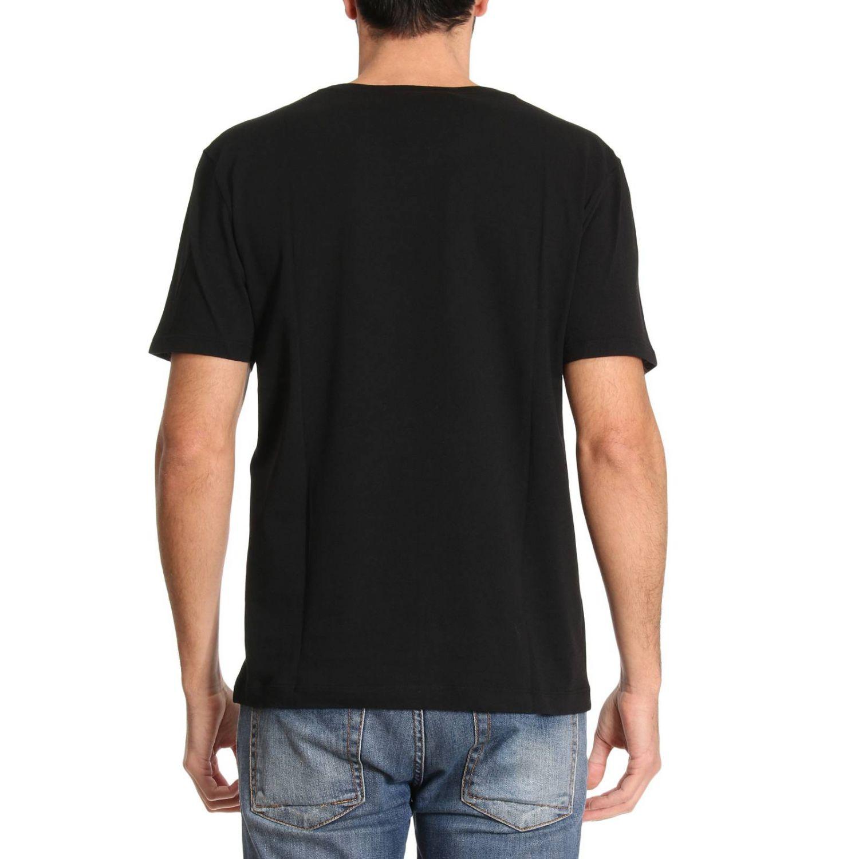 T-shirt Gucci: T-shirt in puro cotone con stampa Classic Gucci nero 3