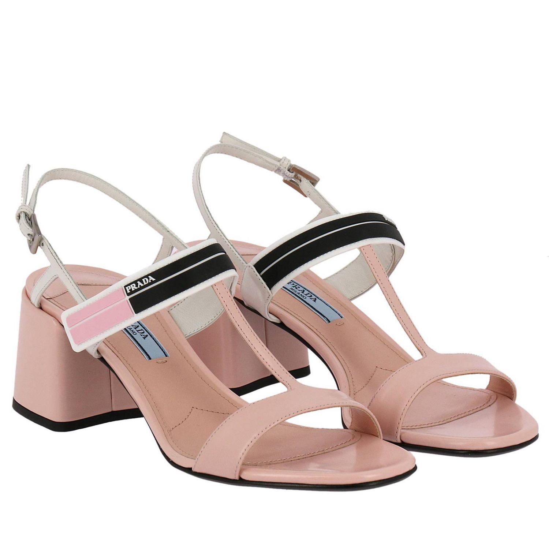 Shoes women Prada pink 2