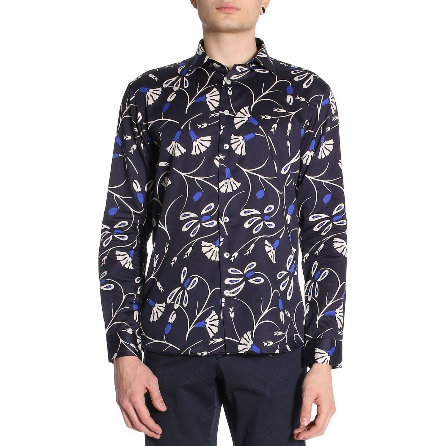 Shirt men Etro blue 1