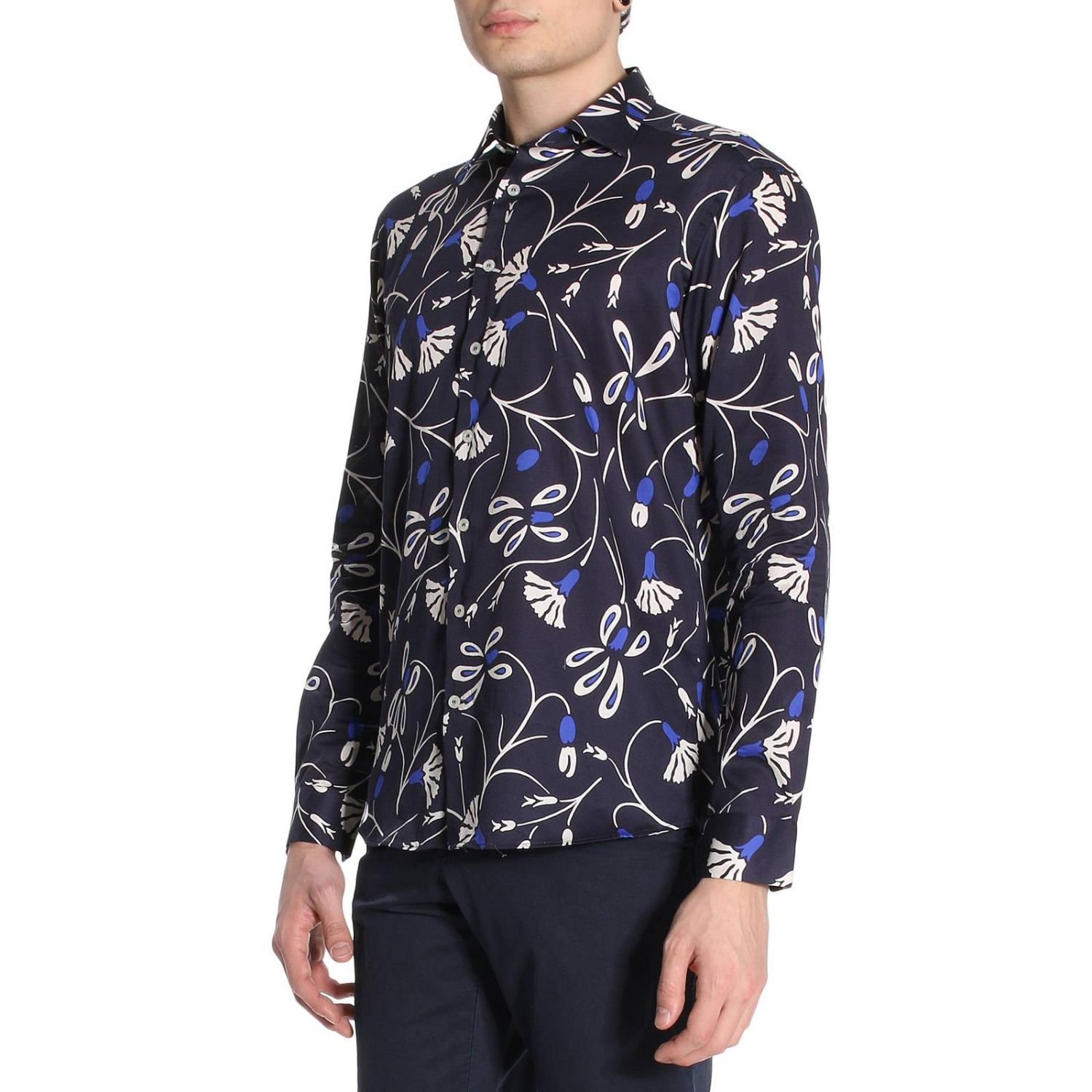 Shirt men Etro blue 2