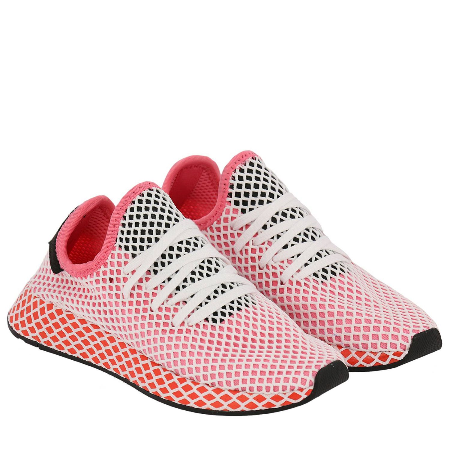Baskets Deerupt Runner W Originals en knite et mesh stretch effet filet