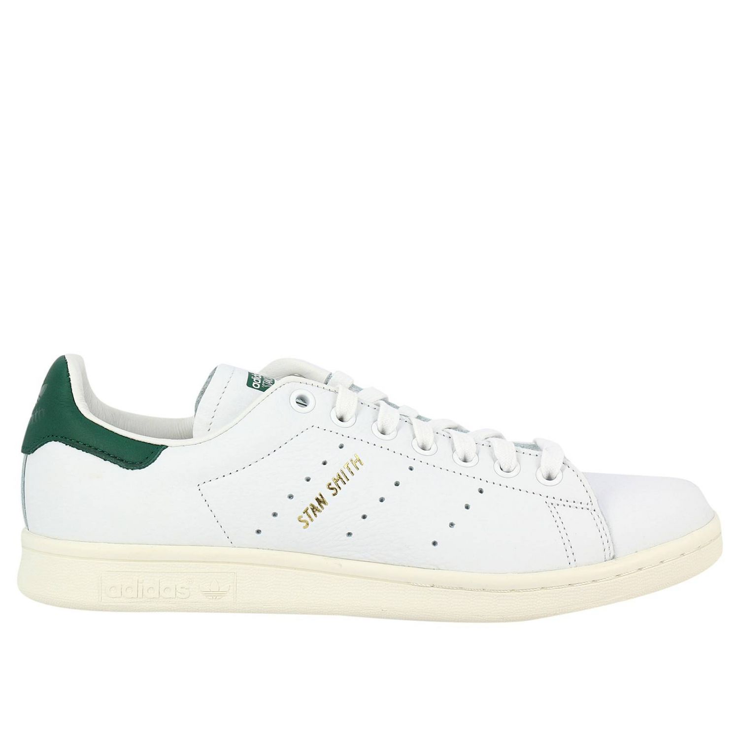 Sneakers Adidas Originals Stan Smith Men's Sneakers In Smooth Leather With Ortholite Sole 8311784