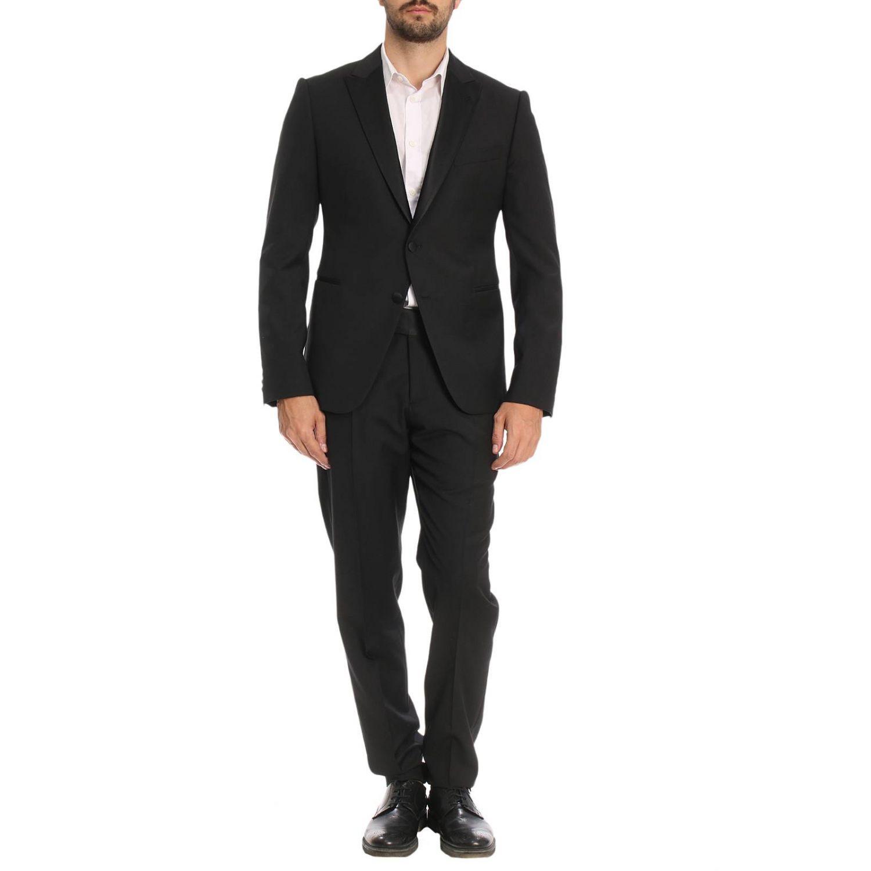 Suit men Emporio Armani black 1