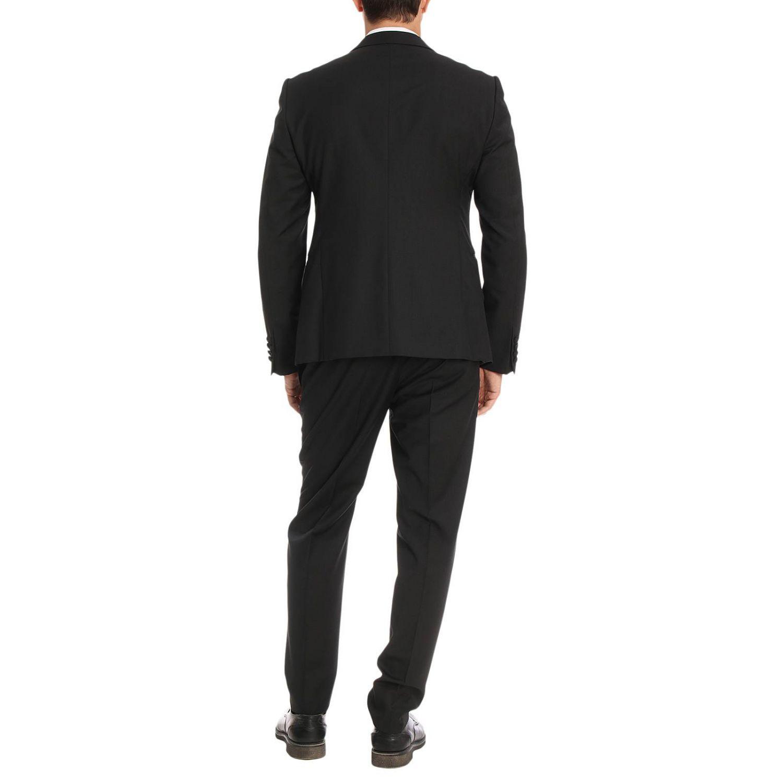 Suit men Emporio Armani black 3