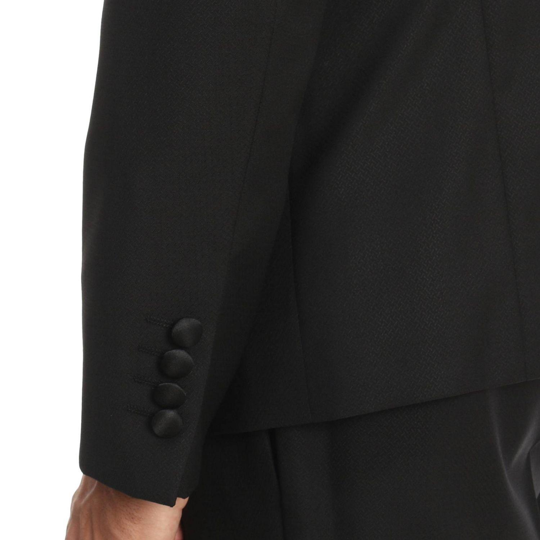 Suit men Emporio Armani black 4
