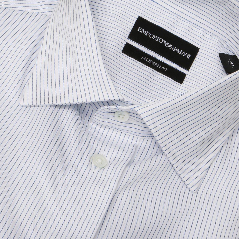 Shirt men Emporio Armani gnawed blue 2