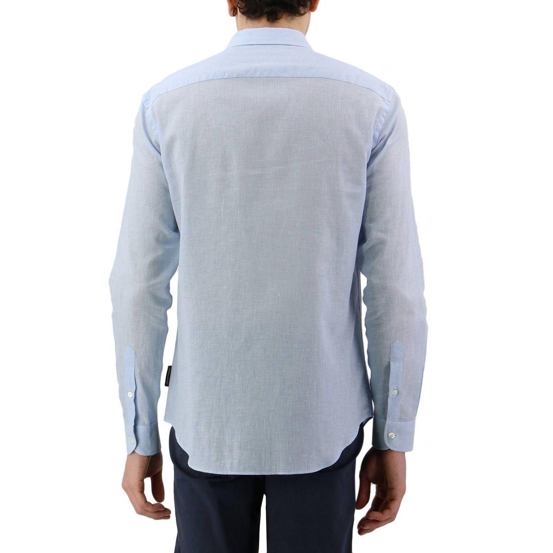 Shirt men Emporio Armani sky blue 3