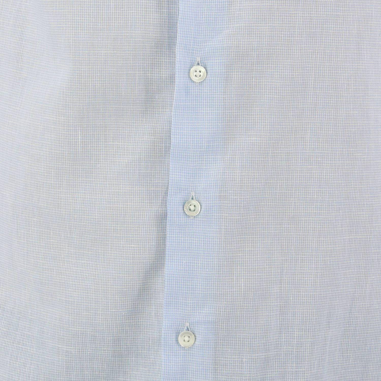 Shirt men Emporio Armani sky blue 4
