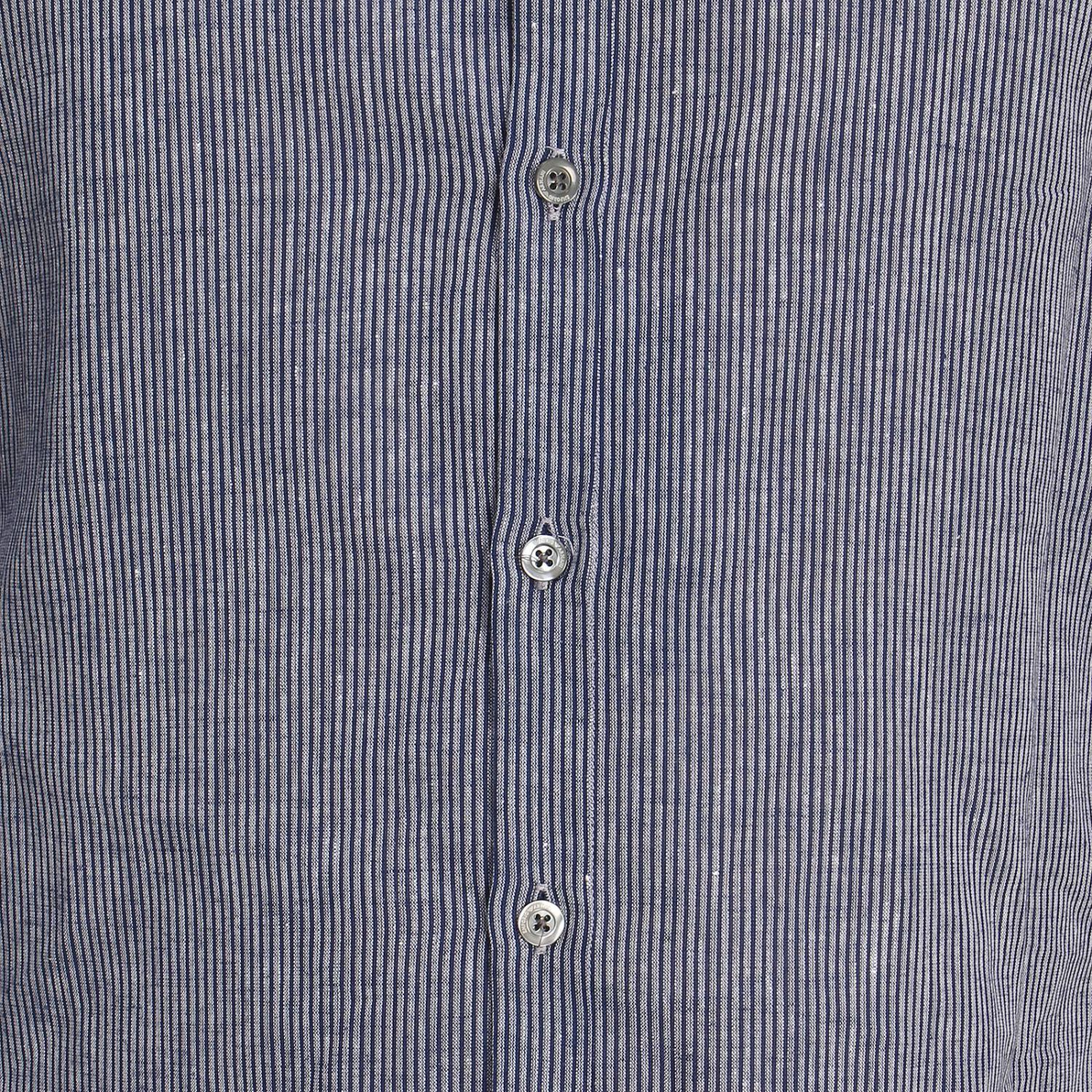 Shirt men Emporio Armani gnawed blue 4