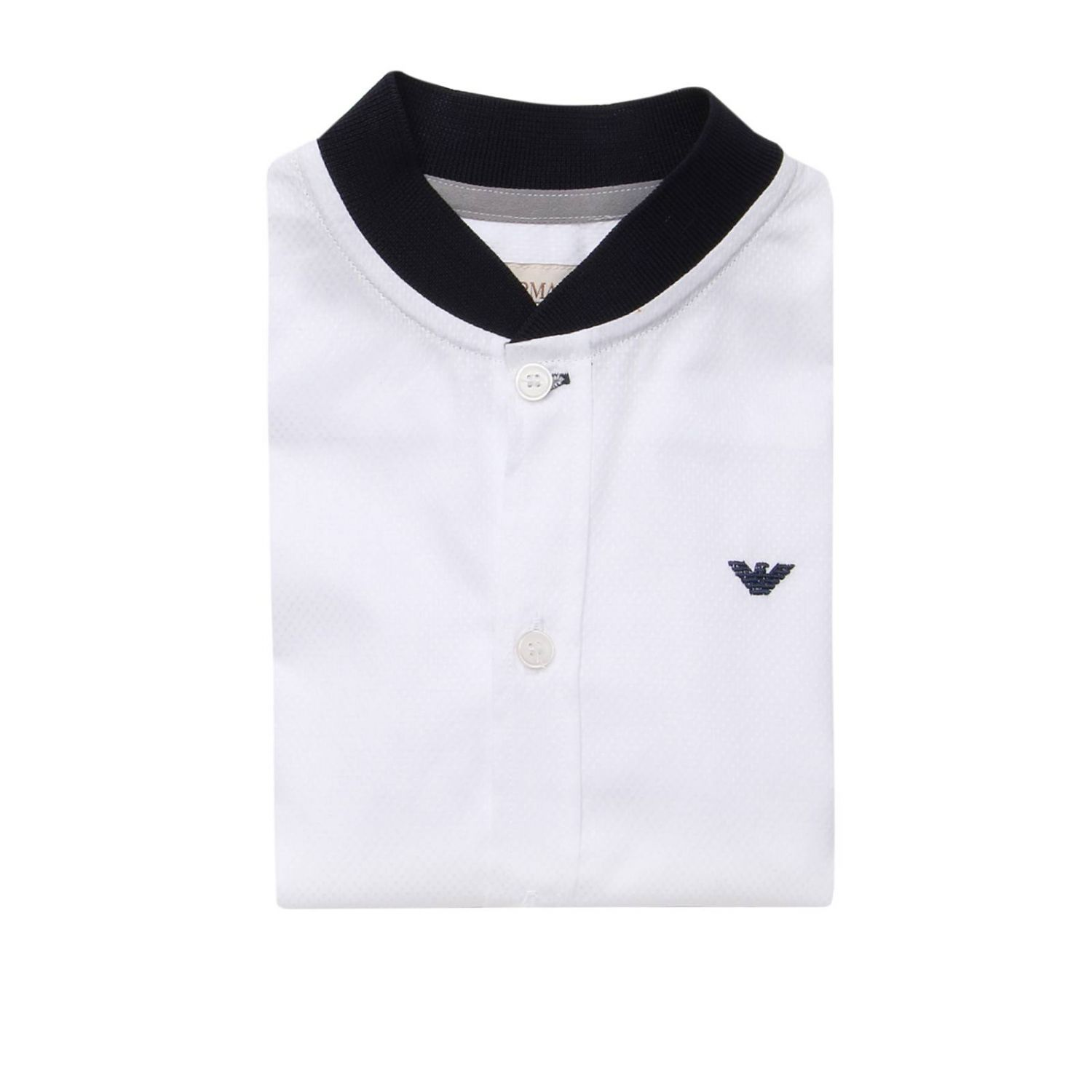 Shirt kids Armani Junior white 1
