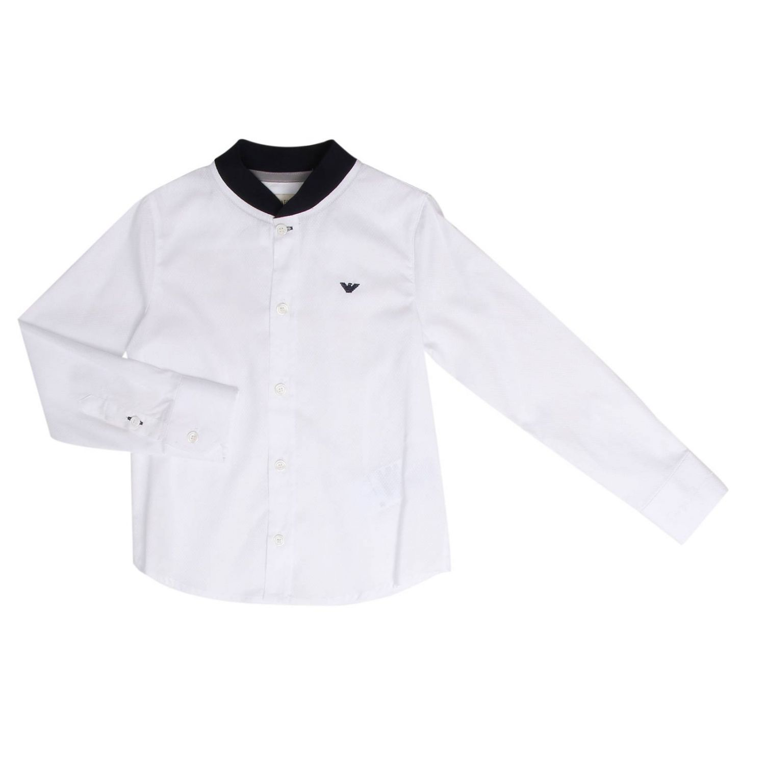 Shirt kids Armani Junior white 2