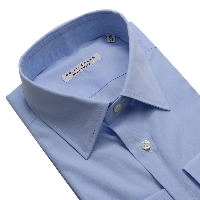 衬衫 男士 Brian Dales Camicie 浅蓝色 3
