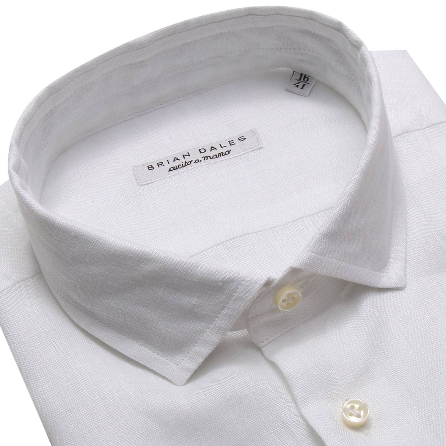 Shirt men Brian Dales Camicie white 3