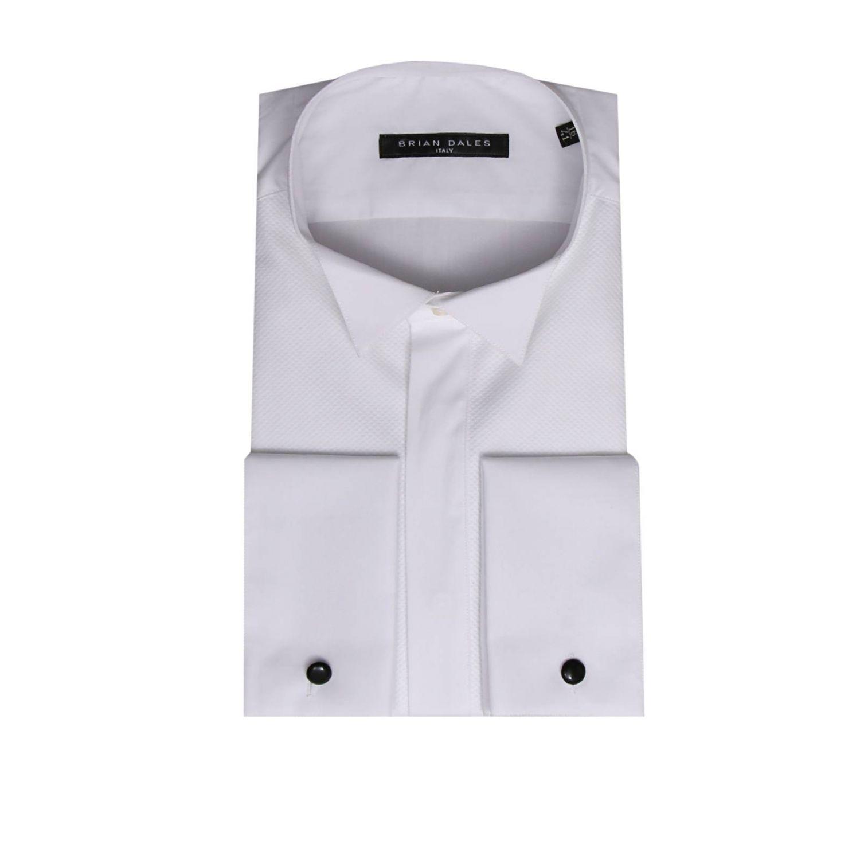 Shirt men Brian Dales Camicie white 1