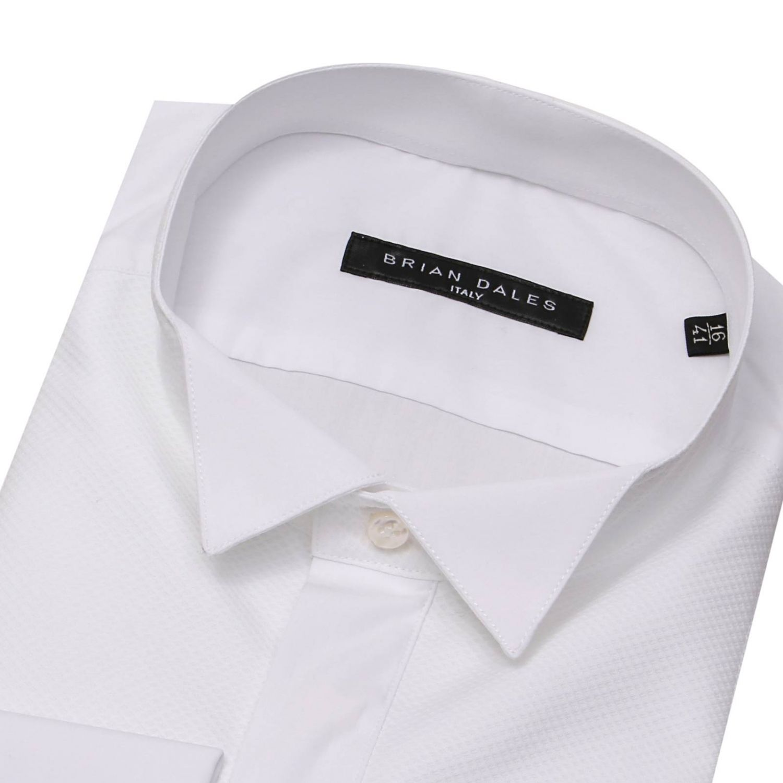 Shirt men Brian Dales Camicie white 2