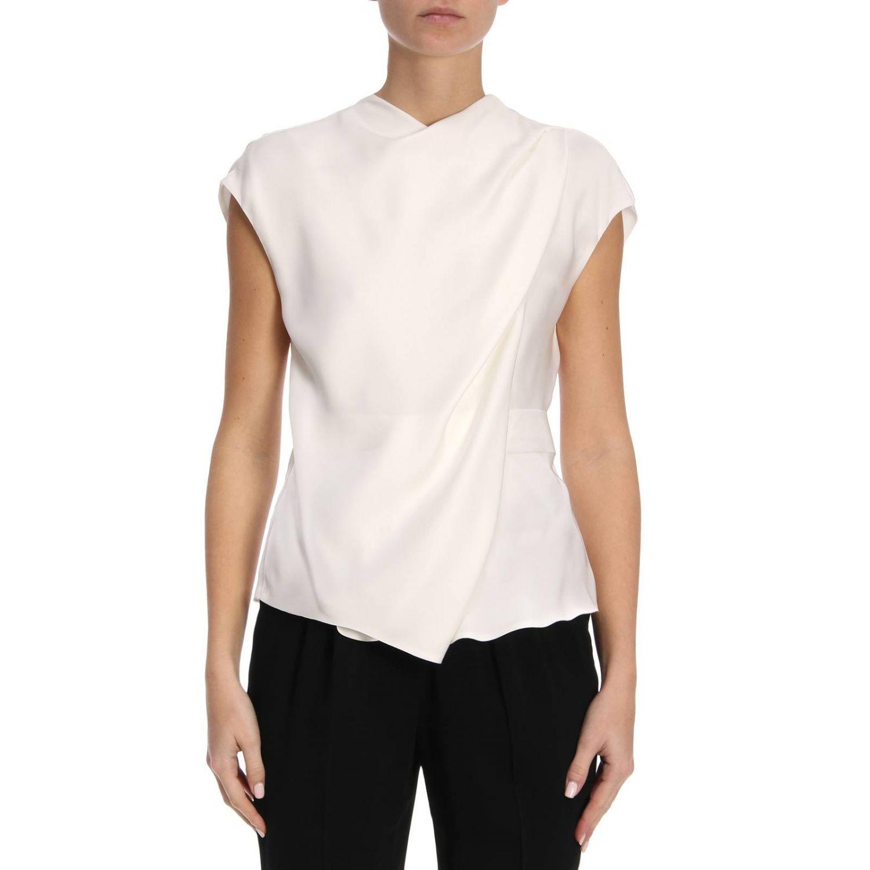 Блузка Giorgio Armani: Блузка Женское Giorgio Armani белый 1