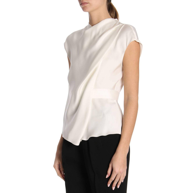 Блузка Giorgio Armani: Блузка Женское Giorgio Armani белый 2