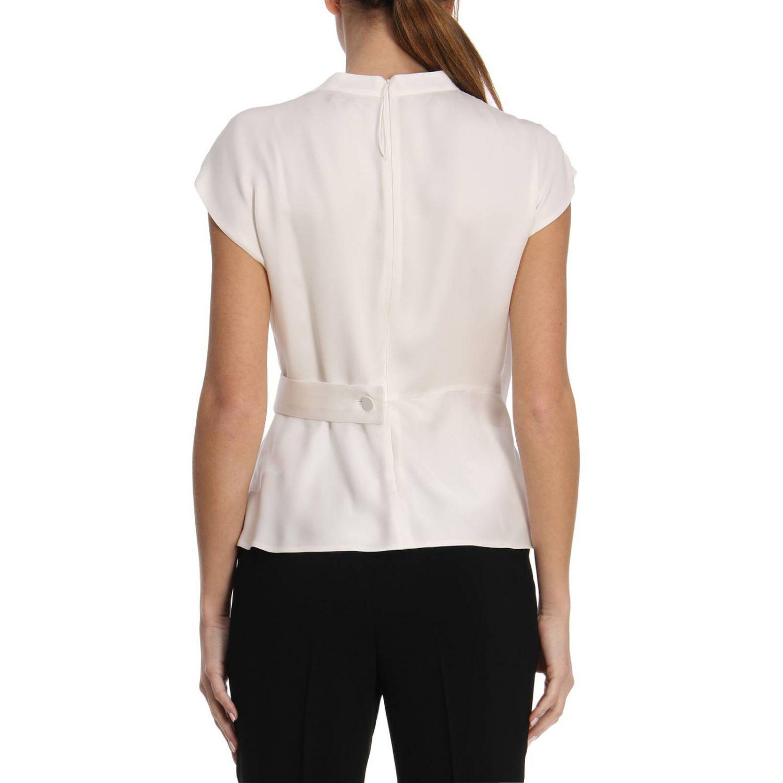 Блузка Giorgio Armani: Блузка Женское Giorgio Armani белый 3