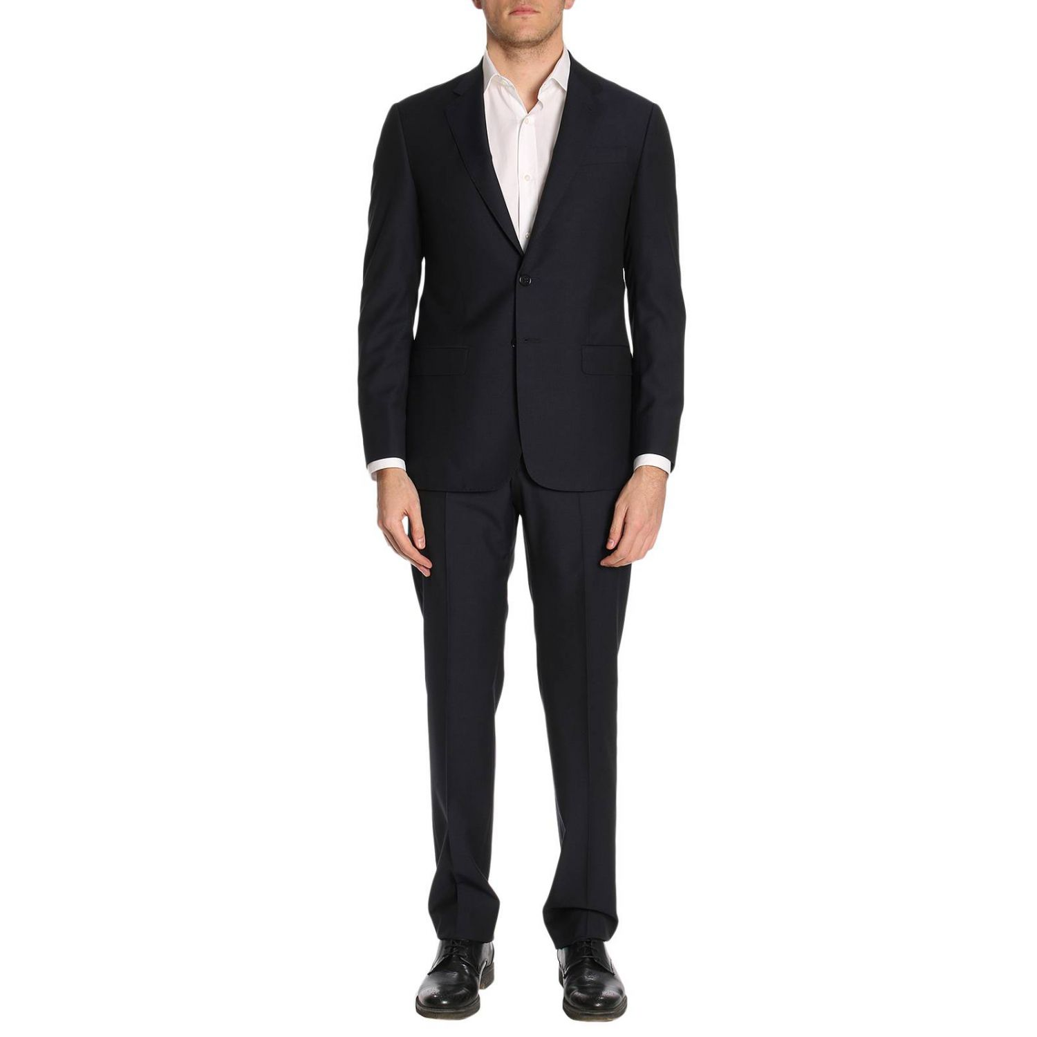 Suit men Giorgio Armani blue 1