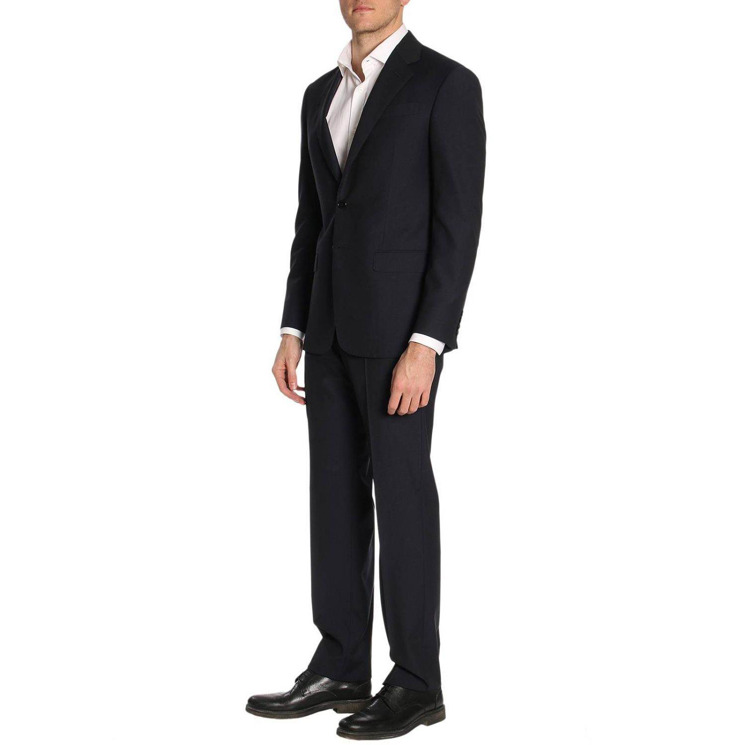 Suit men Giorgio Armani blue 2