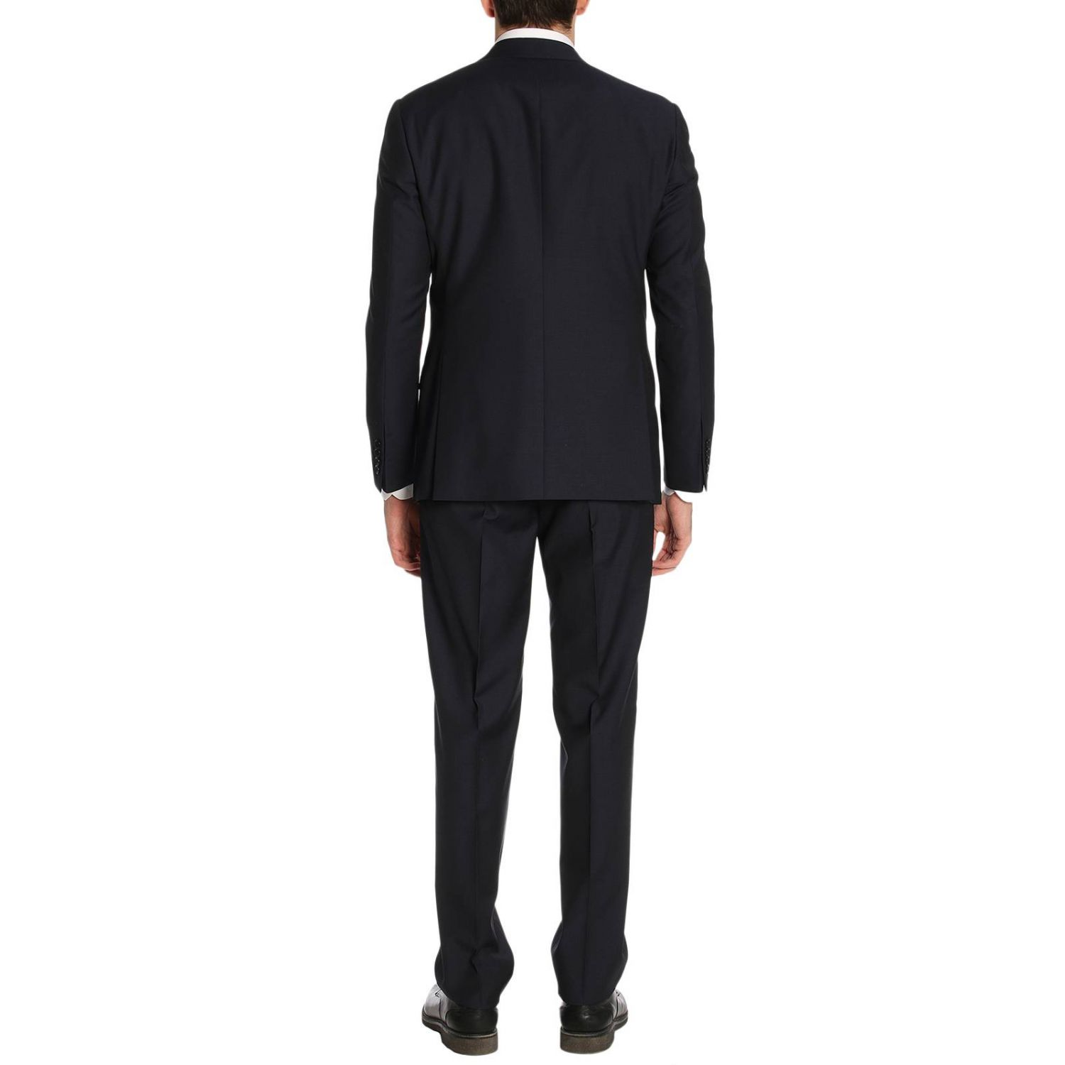 Suit men Giorgio Armani blue 3