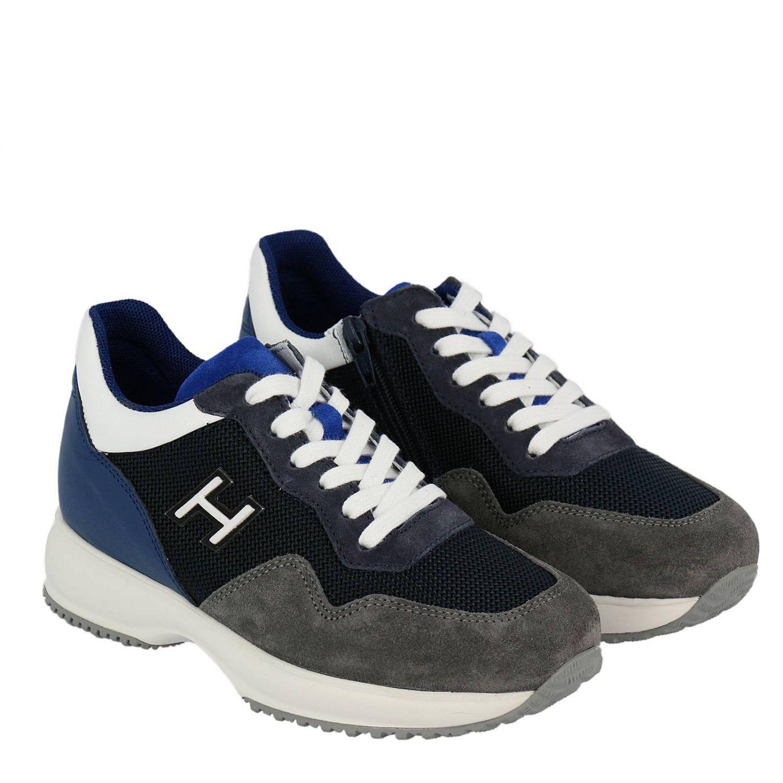 Zapatos niños Hogan azul oscuro 2