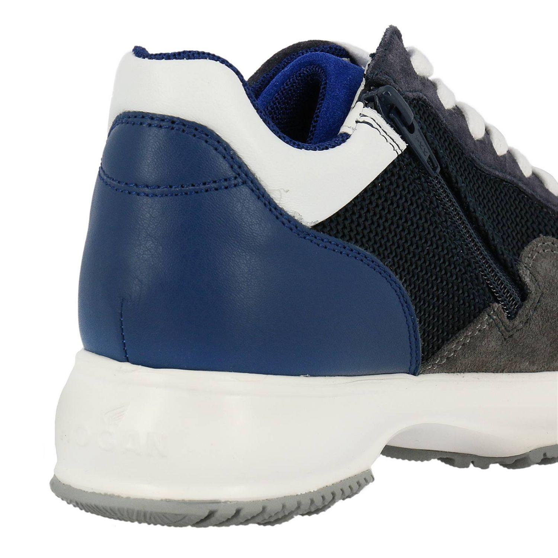 Zapatos niños Hogan azul oscuro 4