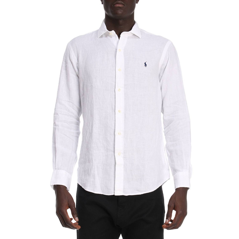 Рубашка Мужское Polo Ralph Lauren белый 1
