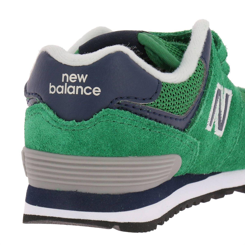 new balance enfant vert