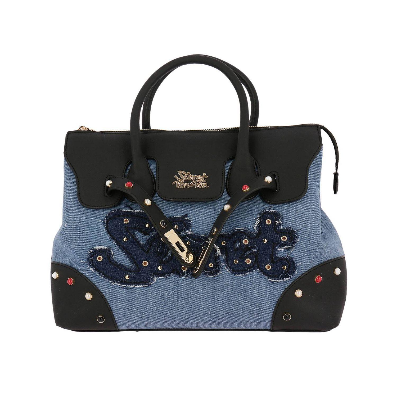 Handbag Shoulder Bag Women Secret Pon-pon 8340815