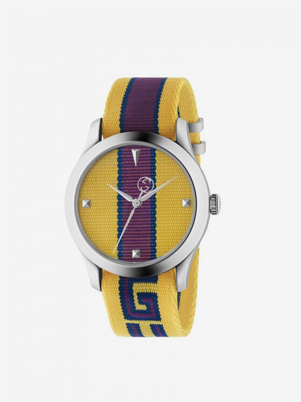 Часы Мужское Gucci желтый 1