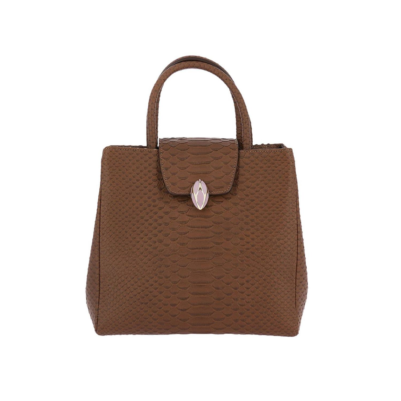 Наплечная сумка Женское F.e.v. By Francesca E. Versace бежевый 1
