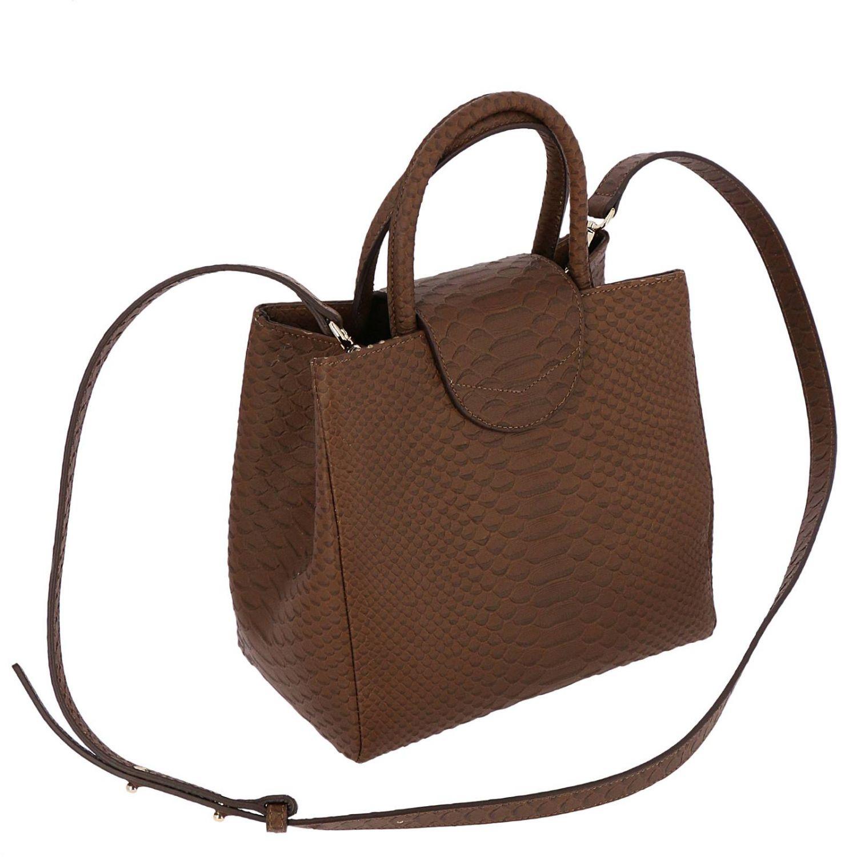 Наплечная сумка Женское F.e.v. By Francesca E. Versace бежевый 3