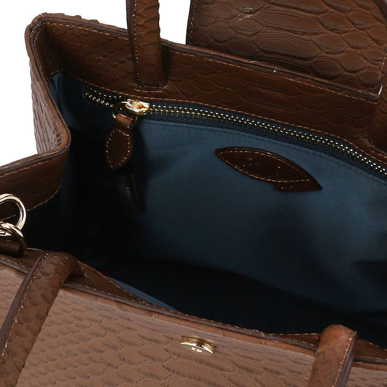 Наплечная сумка Женское F.e.v. By Francesca E. Versace бежевый 4