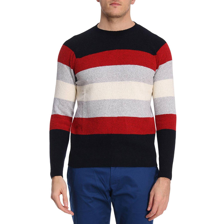 Sweater men Eleventy blue 1