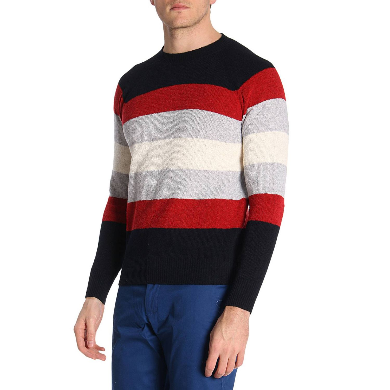 Sweater men Eleventy blue 2