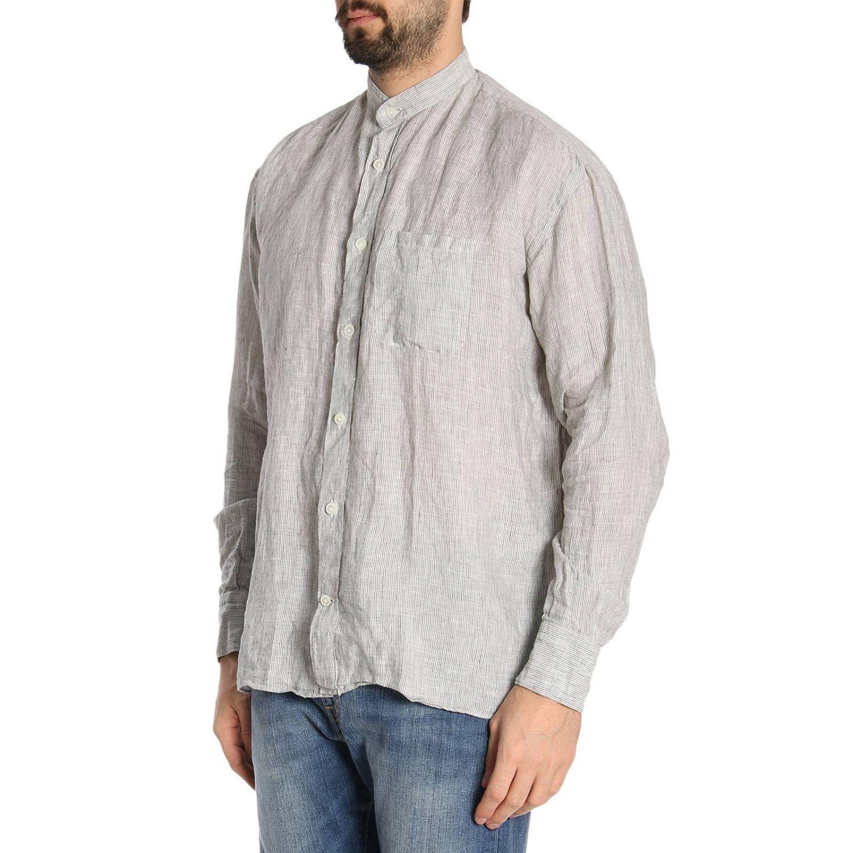 Shirt men Eleventy sage 2